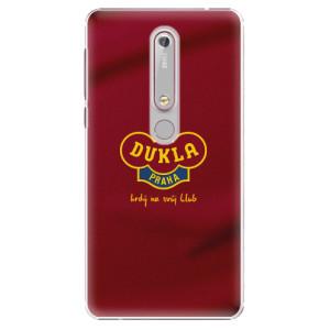 Plastové pouzdro iSaprio - FK Dukla Praha - na mobil Nokia 6.1