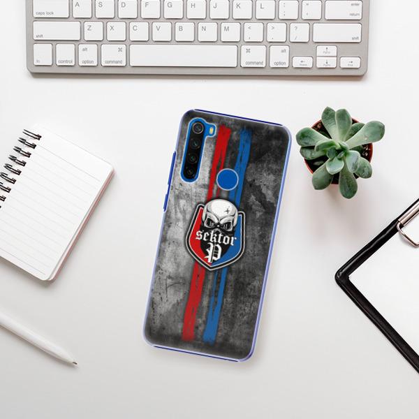 Plastové pouzdro iSaprio - FCVP - Lebka na mobil Xiaomi Redmi Note 8T