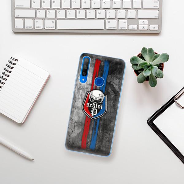 Odolné silikonové pouzdro iSaprio - FCVP - Lebka na mobil Honor 9X