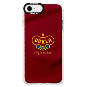 Silikonové pouzdro Bumper iSaprio - FK Dukla Praha - na mobil Apple iPhone SE 2020