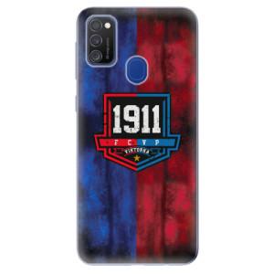Silikonový obal iSaprio - Viktorka FCVP 1911 Logo - na mobil Samsung Galaxy M21