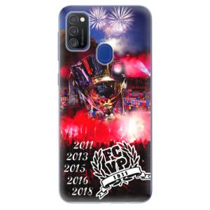 Silikonový obal iSaprio - Viktorka FCVP 1911 Tituly - na mobil Samsung Galaxy M21