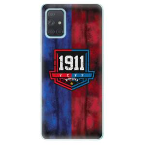 Silikonový obal iSaprio - Viktorka FCVP 1911 Logo - na mobil Samsung Galaxy A71