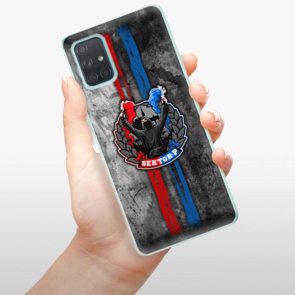 Odolné silikonové pouzdro iSaprio - FCVP - Fanatik na mobil Samsung Galaxy A71