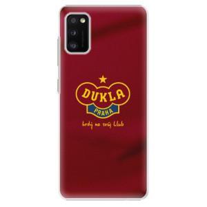 Plastové pouzdro iSaprio - FK Dukla Praha - na mobil Samsung Galaxy A41