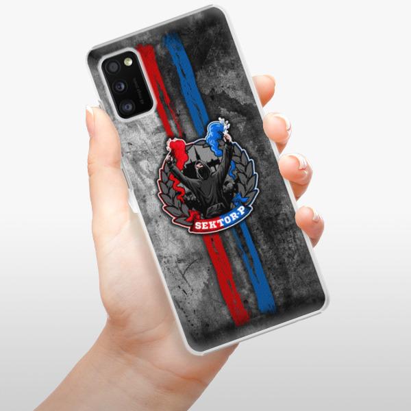 Plastové pouzdro iSaprio - FCVP - Fanatik na mobil Samsung Galaxy A41