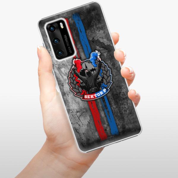 Plastové pouzdro iSaprio - FCVP - Fanatik na mobil Huawei P40