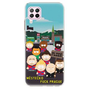 Plastové pouzdro iSaprio - Městečko Fuck Prague - na mobil Huawei P40 Lite