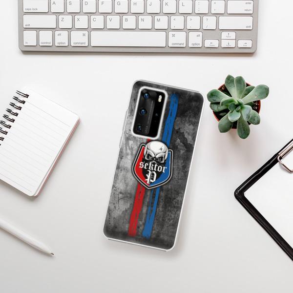 Plastové pouzdro iSaprio - FCVP - Lebka na mobil Huawei P40 Pro