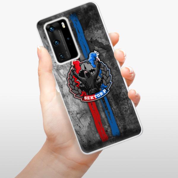 Odolné silikonové pouzdro iSaprio - FCVP - Fanatik na mobil Huawei P40 Pro