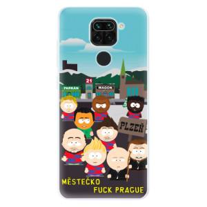 Silikonový kryt iSaprio - FCVP Městečko Fuck Prague na mobil Xiaomi Redmi Note 9
