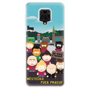 Silikonový kryt iSaprio - FCVP Městečko Fuck Prague na mobil Xiaomi Redmi Note 9S / Xiaomi Redmi Note 9 Pro