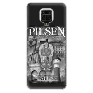 Silikonový kryt iSaprio - Pilsen Beer City na mobil Xiaomi Redmi Note 9S / Xiaomi Redmi Note 9 Pro