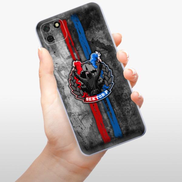 Odolné silikonové pouzdro iSaprio - FCVP - Fanatik na mobil Huawei Y5p