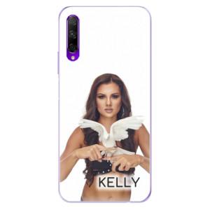 Odolné silikonové pouzdro iSaprio - Kelly s hrdličkou na mobil Honor 9X Pro + podepsaná karta s Kelly