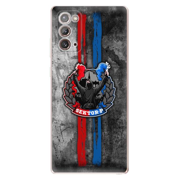 Silikonové pouzdro - FCVP - Fanatik na mobil Samsung Galaxy Note 20