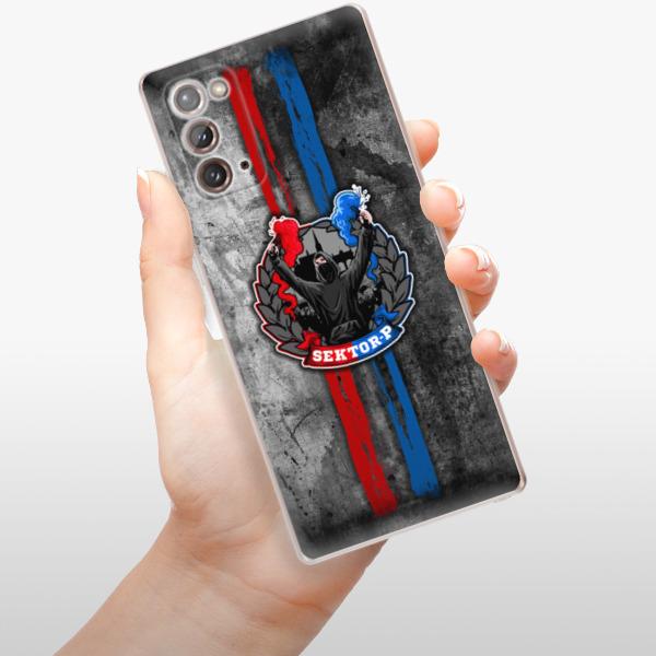 Odolné silikonové pouzdro iSaprio - FCVP - Fanatik na mobil Samsung Galaxy Note 20