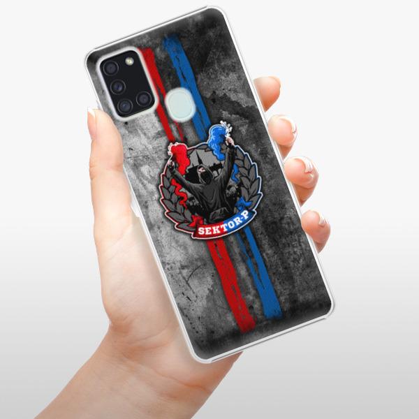 Plastové pouzdro iSaprio - FCVP - Fanatik na mobil Samsung Galaxy A21s