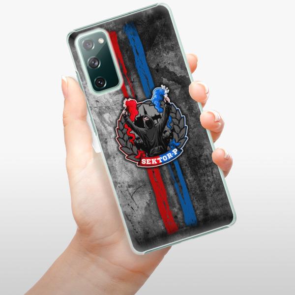 Plastové pouzdro iSaprio - FCVP - Fanatik na mobil Samsung Galaxy S20 FE
