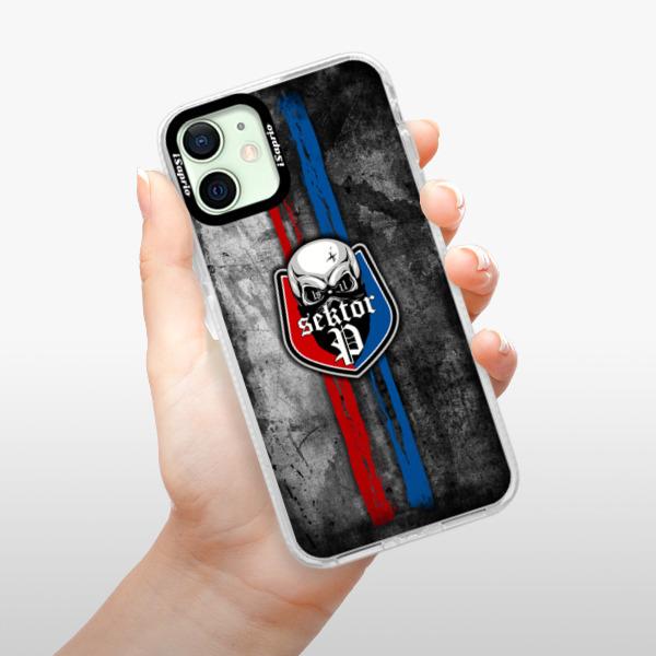 Silikonové pouzdro Bumper iSaprio - FCVP - Lebka na mobil Apple iPhone 12 mini