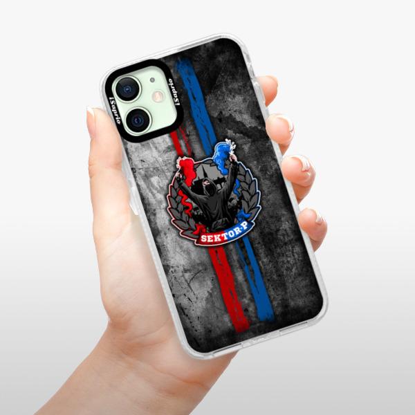 Silikonové pouzdro Bumper iSaprio - FCVP - Fanatik na mobil Apple iPhone 12 mini