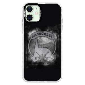 Odolné silikonové pouzdro Bumper - Škodovácí - Dark logo na mobil Apple iPhone 12 mini