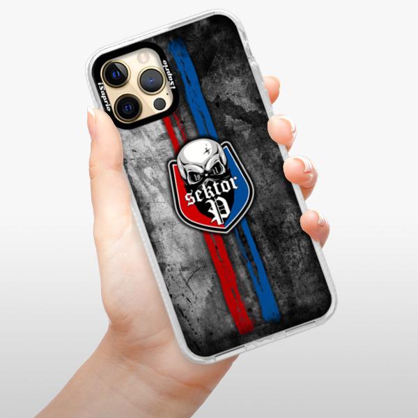 Silikonové pouzdro Bumper iSaprio - FCVP - Lebka na mobil Apple iPhone 12 Pro