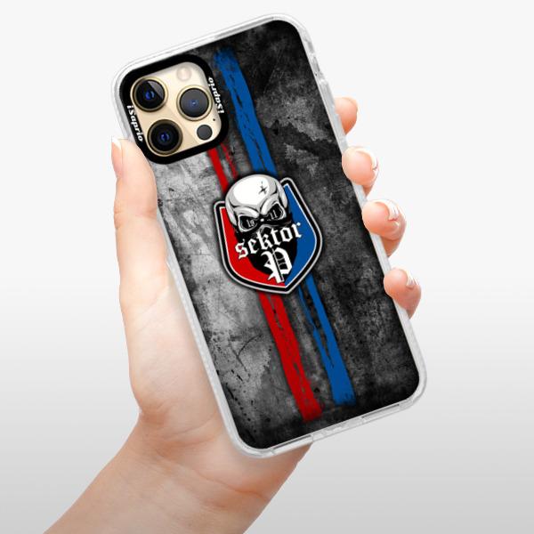 Silikonové pouzdro Bumper iSaprio - FCVP - Lebka na mobil Apple iPhone 12 Pro Max