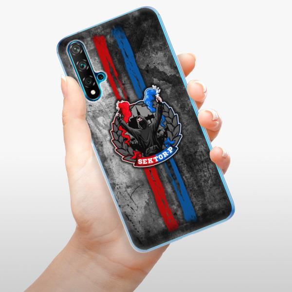 Odolné silikonové pouzdro iSaprio - FCVP - Fanatik na mobil Huawei Nova 5T