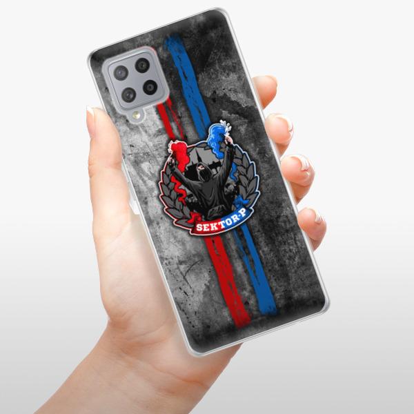 Odolné silikonové pouzdro iSaprio - FCVP - Fanatik na mobil Samsung Galaxy A42