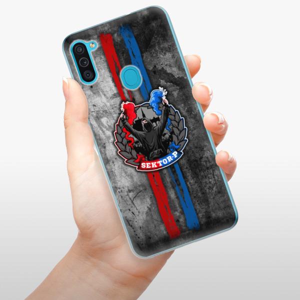Odolné silikonové pouzdro iSaprio - FCVP - Fanatik na mobil Samsung Galaxy M11